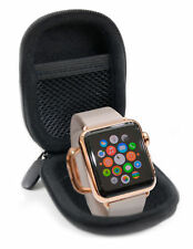 Small Black Protective Hard Shell Travel Storage Case For Apple Watch Series 6