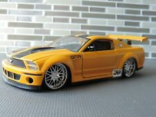 1/24 Jada yellow Dub City Ford Mustang GT-R Concept
