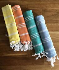 Turkish 100% Cotton T-Towel Set Of 4 23�x37�