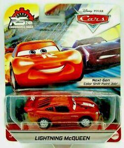 Pixar Cars LIGHTNING MCQUEEN RS 24th Endurance Race car