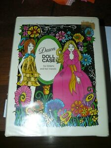 Vintage Dawn Doll Case 1970