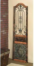 Vintage Style Antique Victorian Door Wall Art Sculpture Panel ~ Wood & Metal