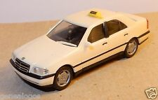 MICRO HERPA HO 1/87 MERCEDES BENZ C 220 TAXI CREME