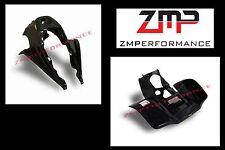 NEW SUZUKI LT250R PLASTIC BLACK RACE FRONT AND REAR FENDER SET PLASTICS LT 250R