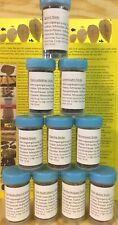 50ml Futtersticks 10 Sorten Auswahl in praktischer Schraubdose - Garnelenfutter