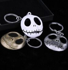 1*The Nightmare Before Christmas Jack Skellington Metal Keyring Cars Key Chain