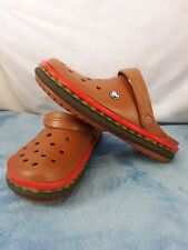 Crocs Hamburger Japan Clog Rare Post Malone Sold out foodie Slobby men 7 women 9