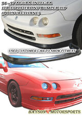 ITR TR-Style Front Lip (Urethane) Fits 94-97 Integra 2dr
