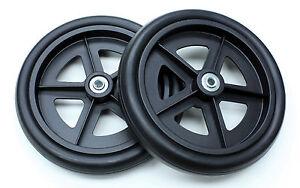 "8"" Caster Wheel Replacement Invacare ProBasics Rollator C4608-BK 2 pcs NEW"
