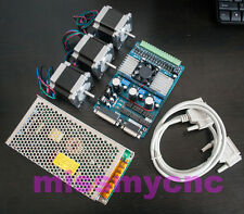 3Axis Nema23 Stepping Motor 1.2N.m 2.8A 4wire&board TB6560 & Power for CNC mill
