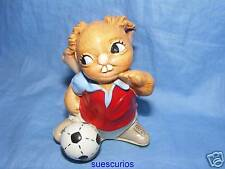 Pendelfin Footballer Burnley Striker - Rare - Boxed
