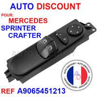 Commutateur bouton leve vitre Mercedes Sprinter VW Crafter w609 - A6395450913