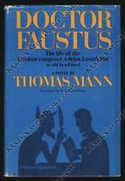 Thomas Mann DOCTOR FAUSTUS German Literature FAUST First Modern Library Edition