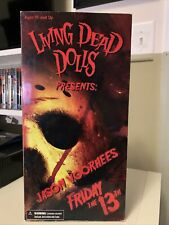 2009 Mezco Living Dead Dolls Jason Vorhees Friday The 13th 12? Doll Figure New