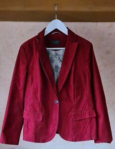 Damen Jacke Feincord, gebraucht, s.Oliver, Größe 44, rot
