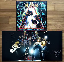 DEF LEPPARD Hysteria 30th Anniversary 2017 SIGNED BY ALL 5 MEMBERS 2-LP Vinyl