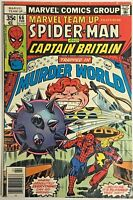 MARVEL TEAM UP#66 FN 1978  CAPT. BRITAIN BRONZE AGE COMICS