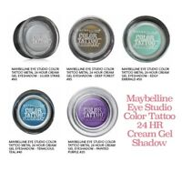 Maybelline Eye Studio Color Tattoo 24 Hour Eye Shadow - Pick Any 3 for $9