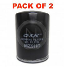 OSAKA OIL FILTER OZ9 INTERCHANGEABLE WITH RYCO Z9 (BOX OF 2)
