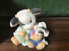 MARY'S MOO MOOS Cow Figurine AN EGGSPRESSION OF LOVE Mom & Baby Cow/Egg #104906