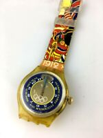 OROLOGIO SWATCH Olympic Games Stockholm automatic ETA 2842 SWISS NON FUNZIONA