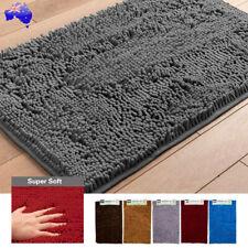 Soft Microfibre Bath Mat Anti Slip Rug Carpet Shower Toilet Bedroom Shaggy Mats