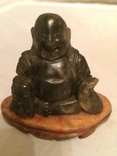 Rare! Antique Chinese Hand Carved Marble Buddha Statue - private collection