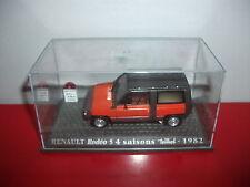 RENAULT 4 Rodéo 5 4 saisons teilhol 1982 orange NEUF boite 1/43 voiture 4L