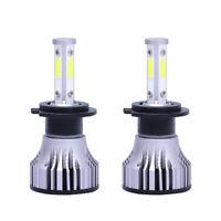 2 PièCes H7 Kit de Phares à LED de Voiture 20000LM 6500K 100W Blanc Froid H X5A2