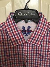NWT Mens Robert Graham Long Sleeve Noserider Shirt Size XL