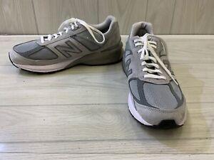 New Balance 990v5 M990GL5 Running Shoes, Men's Size 11.5 4E, Gray