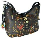 Borsa Barchetta Piero Guidi Tracolla Donna Testa Di Moro Magic Circus Soft Bag W