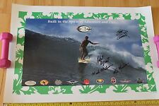 Robert August Autographed Corky Carroll Endless Summer 22x30in. Surfing Poster