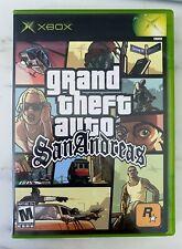 Mint Gta Grand Theft Auto San Andreas Og Xbox Complete Cib Map Manual Original