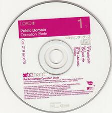 Public Domain-operazione Blade (Bass in the Place London...) ° Maxi-CD 2000