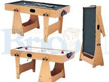 Vinco Tavolo da gioco in legno multifunzione Biliardo-Hockey giochi, casa 20070