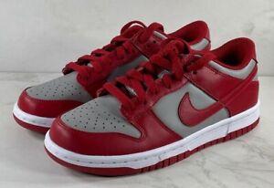 Nike Dunk Low Retro Medium Grey Varsity Red UNLV (GS) (2021) CW1590-002