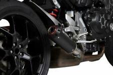 Honda CB 1000R Red Power Black Ceramic Slip-on Scorpion Exhaust 2018-2019
