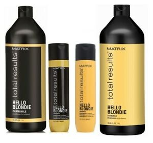 Matrix Total Results Hello Blondie Shampoo or Conditioner All Sizes Available