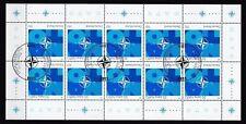BRD 1999 ESST Bonn gestempelt Kleinbogen MiNr. 2039  50 Jahre Nordatlantikpakt