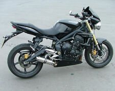 Street Triple 07-12 SP Engineering Polished Stainless Stubby Moto GP 3-1 Exhaust
