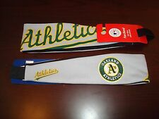 OAKLAND A'S ATHLETICS RARE  SCRIPT  HEAD BAND JERSEY EMBROIDERED  Headband  NEW!