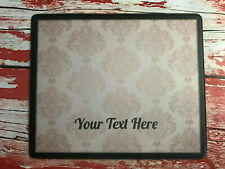 Personalised Nail Table Display Mat - Manicure & Pedicure - Damask Gold
