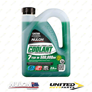 NULON Long Life Concentrated Coolant 2.5L for FIAT X1/9 1500 1.5L Eng 1981-1983