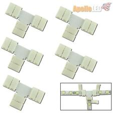 5pcs T type Quick Easy Connectors For Single Color 5050-SMD LED Strip Lights AS9