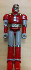 Mighty Morphon Power Rangers Vintage 1995 Red Battle Borg By Bandai 6.5""