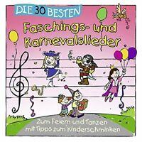 Die 30 besten Faschings- und Karnevalslieder CD NEU OVP