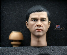 """1/6 Scale HOT Enterbay Yip IP Man - Donnie Yen Head Sculpt Toys for 12"""" Figure"""