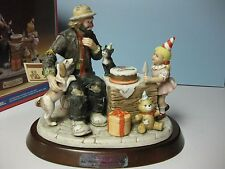#33 of 1989 Flambro Emmett Kelly Jr. Ekj 65th Birthday Commemorative Figurine