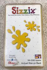 Provo Craft Sizzix Yellow Die Splats 38-0192 in Case